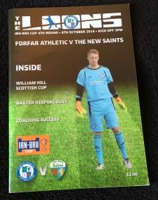 12. Forfar Athletic v The New Saints FC