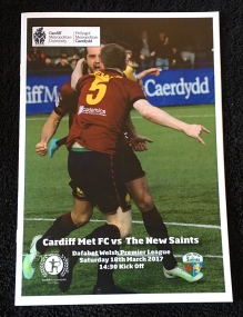 27. Cardiff Metropolitan University FC v The New Saints FC