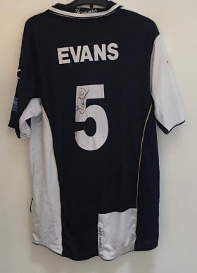 Steve Evans. Signed.
