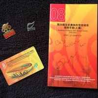 New Zealand Football Memorabilia From The Beijing Olympics 2008