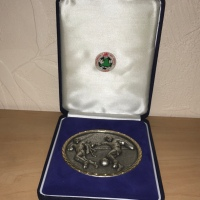 Welsh Premier League Runners-Up Medal 2002/2003