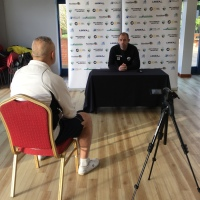 No Scott Ruscoe For The Cefn Druids Press Conference, Instead It's Wales International, Steve Evans