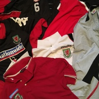 Items From A Wales International, The Latest Additions To My Football Memorabilia Collection