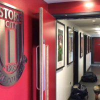 At Stoke City's Clayton Wood Training Ground, For A Behind-Closed-Doors Friendly